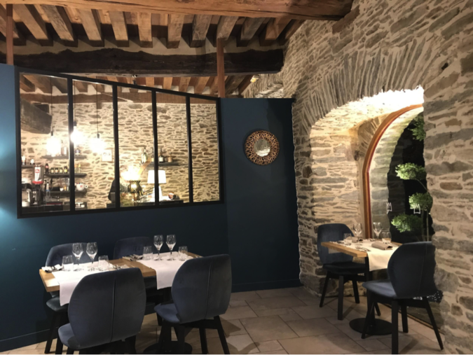 One of my favorite dinners while in Normandy was at La Ferme Du Chateau Agneaux