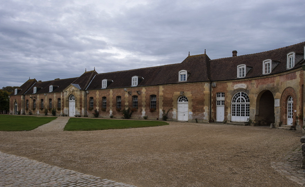 Le Pin and the National Stud Farm (Haras National de Saint-Lô) is a beautiful and impressive facility